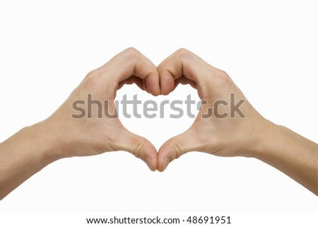 A Heart Shape - stock photo