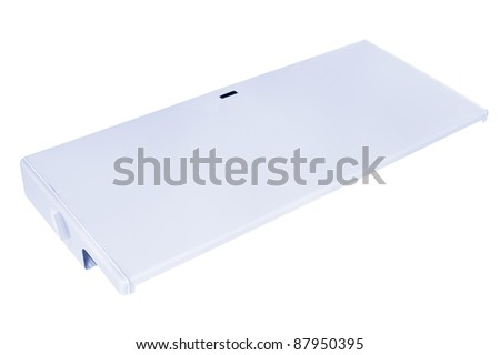 a heater shield, isolated on white, clipping path