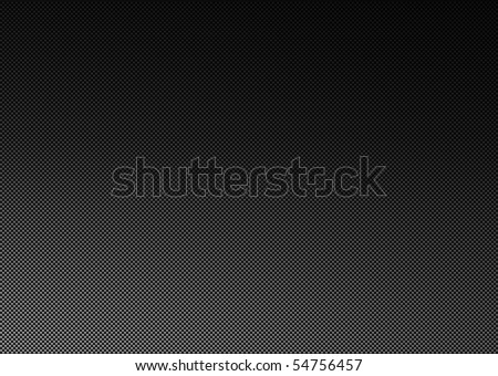 A high detailed realistic carbon fiber weave background. - stock photo