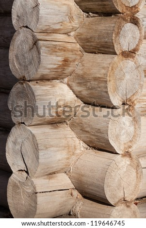 A high resolution wood texture.