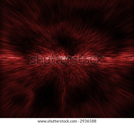 A high speed ride through dimensions. A perfect background! - stock photo