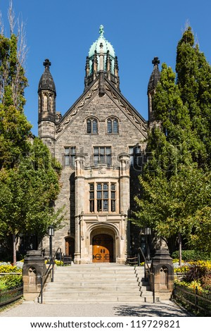 A Historical Building of University of Toronto - stock photo