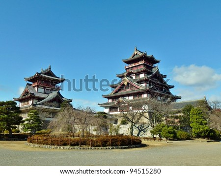 a Japanese castle in Kyoto