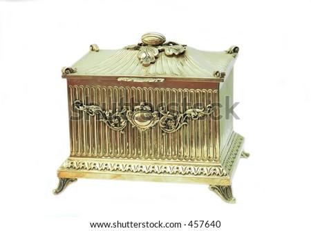 A judaica storage box - stock photo