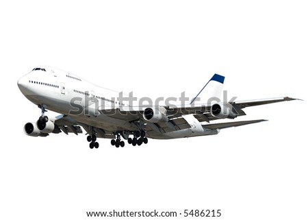 A jumbo on a clean white background - stock photo