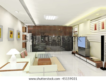a kind of living room design