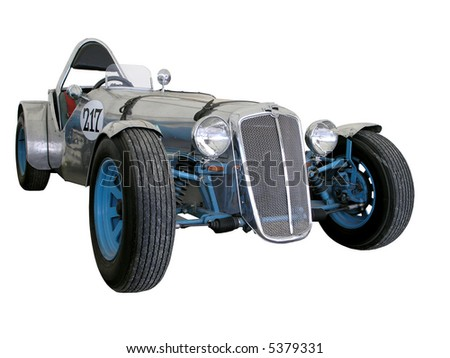 A Late 1960s Morris Major isolated with clipping path - stock photo