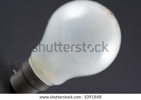 A lightbulb
