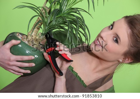 A little carving - stock photo