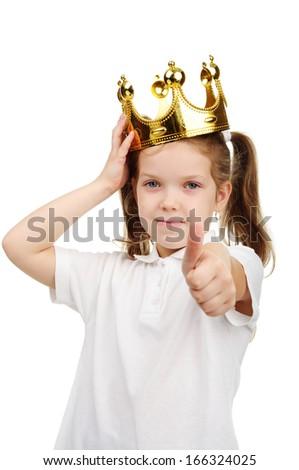 A little girl - stock photo