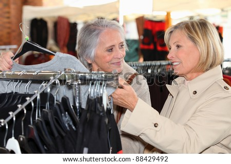 A little shopping - stock photo