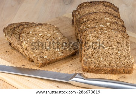 A loaf of black forest bread - stock photo