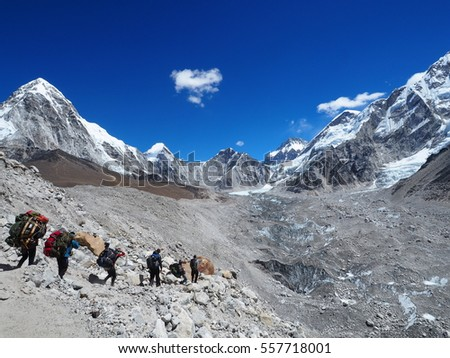 A long way to Everest Base Camp