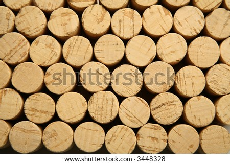A lot of new corks