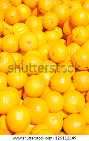 A lot of oranges, background