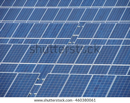 a lot of solar panels useful as background too