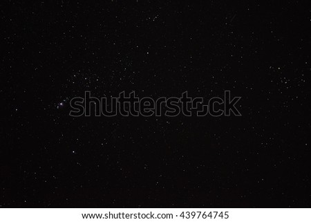 A lot of Star shot from thailand - stock photo