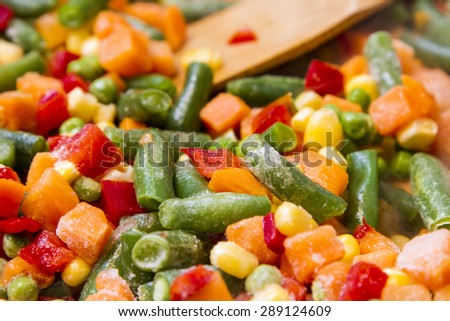 A lot of vegetables food, created by mexicans. - stock photo