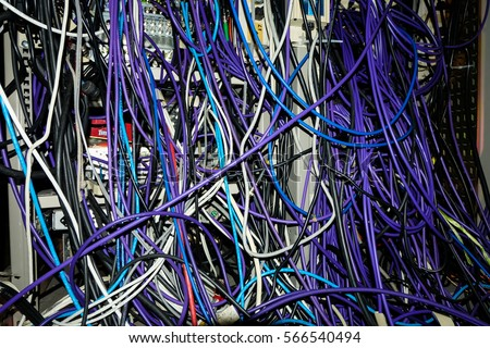 wires online network panel switch cable data stock photo 100 legal rh shutterstock com connecting network switch routeur wiring a network switch