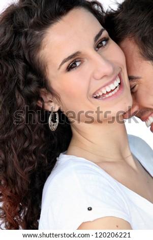 A loving couple - stock photo