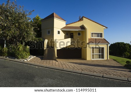 A luxury Holiday House at Brenton, Knysna South Africa - stock photo