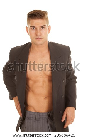 Man Without Shirt Stock Images, Royalty-Free Images & Vectors ...