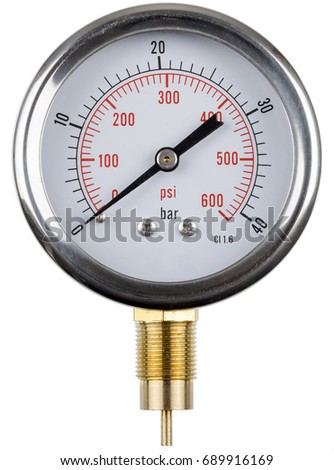 analog manometer. a manometer, device for determining the gas pressure, analog, switch. analog manometer