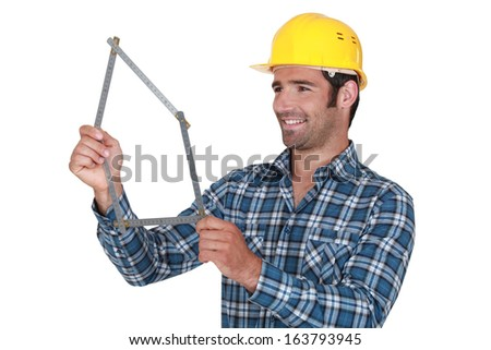 A manual worker - stock photo