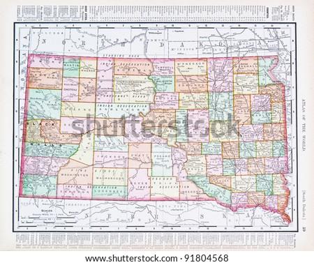 South Dakota Map Stock Images RoyaltyFree Images Vectors - South dakota us map