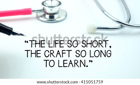 Amazing A Medical Quotes Said  Design