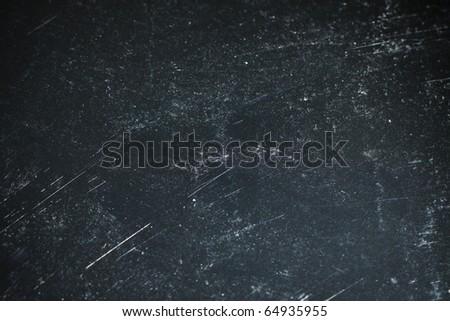 A metal aluminum sheet with scratch - stock photo