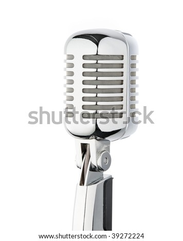 A microphone for speeches, speech, singing karaoke