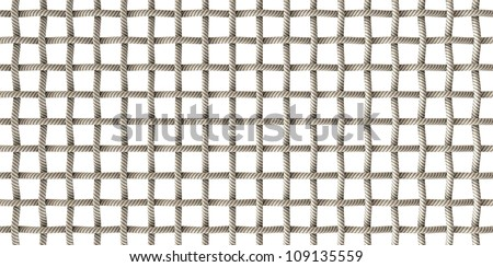 A microscopic top view of a simple purple woven fabric pattern and threads - stock photo