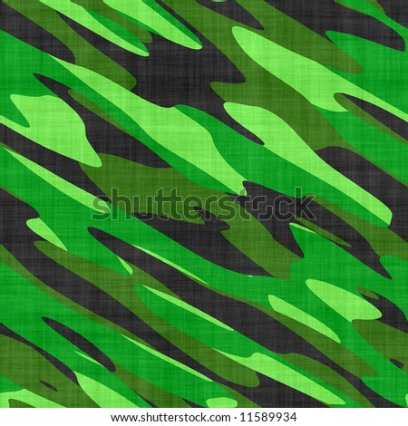 A military camouflage texture - this tiles seamlessly as a pattern. - stock photo