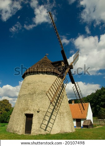 A mill in a small village