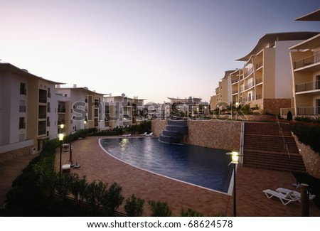 A modern building - Lifestyle concept - stock photo