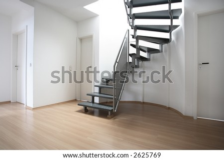 a modern room - stock photo