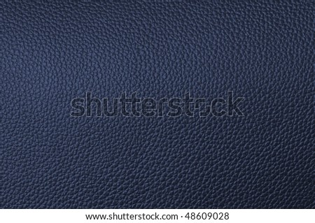 a natural blue leather texture. close up. - stock photo