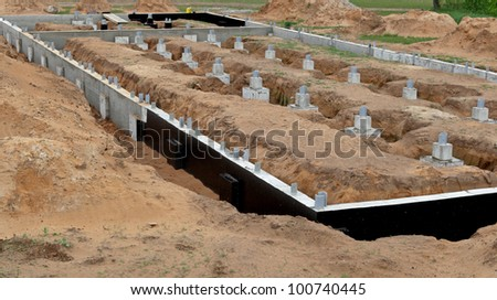 A new foundation, building site