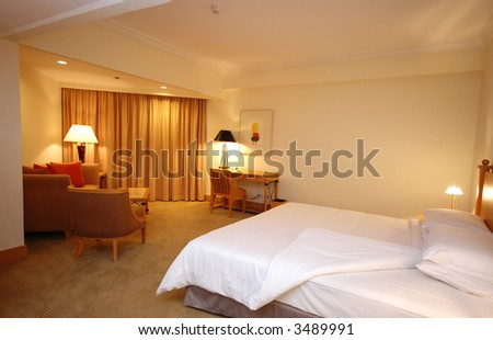 A nice and spacious suite for Vacation - stock photo