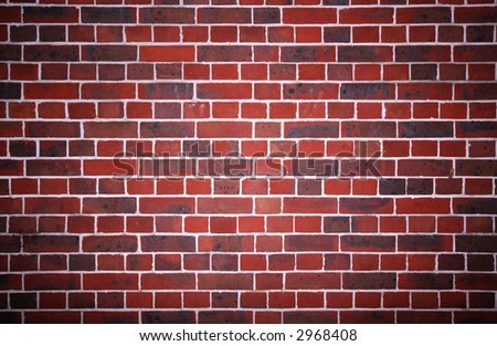 A nice brick wall - stock photo
