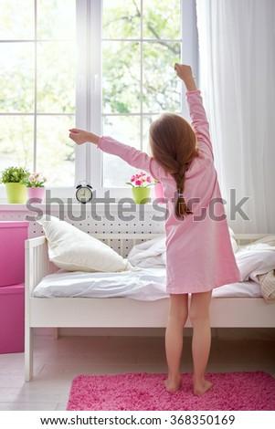 Child Waking Up Stock Images Royalty Free Images