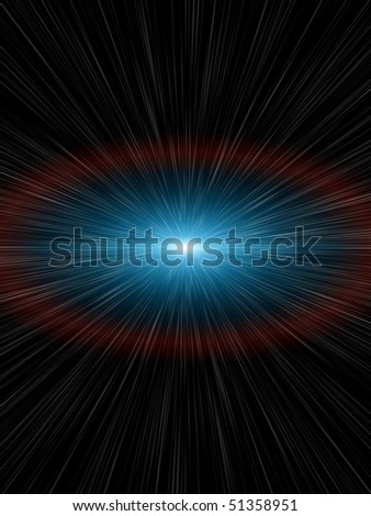 a nice light speed background - stock photo