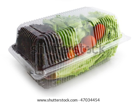 A Pack of Vegetable - stock photo