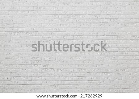 A painted brick wall background - stock photo