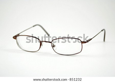 A pair of eyeglasses - stock photo
