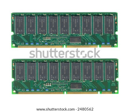a pair of memory chip