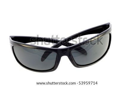 A pair of sunglasses isolated on white