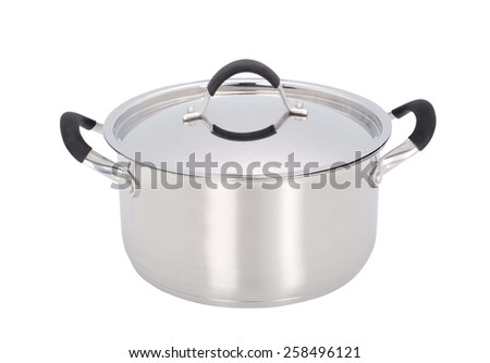 a pan isolated on a white - stock photo