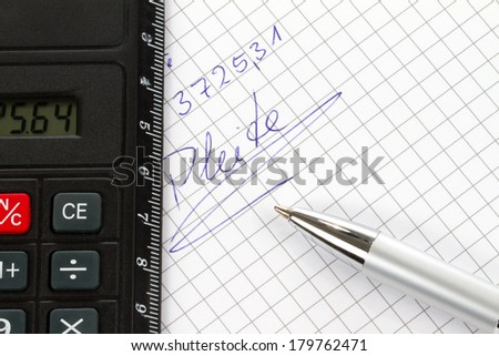 A Paper shows a privat bankrupt in german language. - stock photo